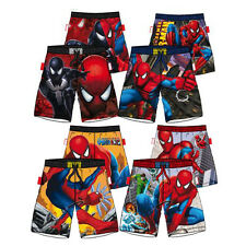 Boys Official Marvel Spiderman Swim Shorts 6 7 8 9 10 Years