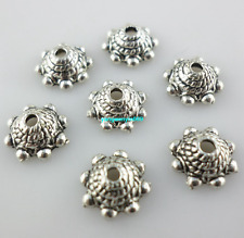 100/1000pcs Tibetan Silver Crafts Jewelry Making Spacer Bead Caps 3.5*8.5mm