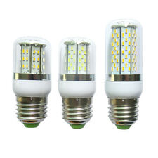 E27 48/78/120 3014 SMD LED Light Corn Bulb Lamp 12-24V/85-265V Cover #S