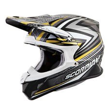Scorpion Adult Gold/Black/Grey VX-R70 Barstow ECE/DOT Off-Road Dirt Bike Helmet