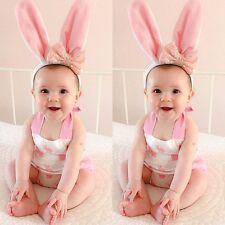 Cute Baby Toddler Girls Bunny One-piece Romper Jumpsuit Summer Clothes Outfits