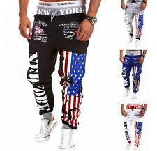 2017 Mens Casual Stylish Jogger Sportwear Baggy Harem Slacks Trousers Sweatpants