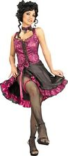 SALE Adult Sexy Saloon Rouge CanCan Dancer Ladies Fancy Dress Hen Party Costume