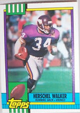 1990 Topps Herschel Walker Minnesota Vikings #105 Football Card