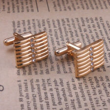 Cool Silver Golden Plated Tuxedo Cufflinks Shirt Studs Formal Set Tux Cuff Links