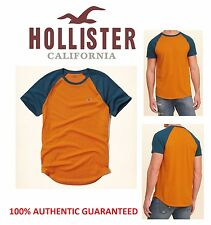 100% AUTHENTIC MENS HOLLISTER BY ABERCROMBIE SHORT SLEEVE CREW NECK T-SHIRT