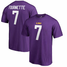 Fanatics Branded Leonard Fournette LSU Tigers Purple College Legends T-Shirt