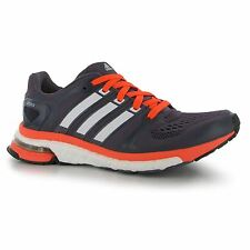 adidas adistar Boost Running Shoes Womens Navy/Ora Trainers Sneakers Sports Shoe