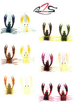 RIVER2SEA LARRY DAHLBERG CLACKIN' CRAYFISH 130  SPARE BODY 2 PACK select colors