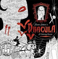 Dracula: a Coloring Classic by Bram Stoker and Random House (2016, Paperback)