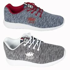 Santa Monica Mens Athletic Casual Trainers Lace up Sport Footwear Running Shoes