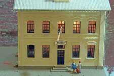 HO Scale Model Power MDP-684 US Embassy Lighted Chancery Building $0 Ship!