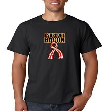 I Support Bacon T Shirt Pork Lover Eggs Breakfast Fat