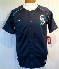 NWT Nike Seattle Mariners Youth Replica Jersey L 16/18 Navy MSRP$50