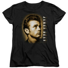 James Dean SEPIA PORTRAIT Licensed Women's T-Shirt All Sizes