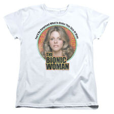 Bionic Woman TV Show Jamie Sommers UNDER MY SKIN Women's T-Shirt All Sizes