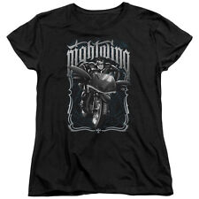 Batman NIGHTWING BIKER Motorcycle Licensed Women's T-Shirt All Sizes