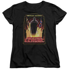 Justice League Art Deco HEROES UNITED Licensed Women's T-Shirt All Sizes