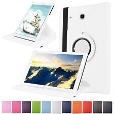 Heavy Leather Case Smart 360 Rotating Stand Cover For Samsung Galaxy Tab A 8.0