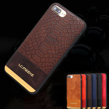 Ultra-thin Crocodile Pattern Leather Back Cover Case For Apple iPhone 7 6s Plus