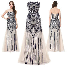 2017 Women Strapless Long Formal Evening Gown Party Cocktail Bridesmaid Dress