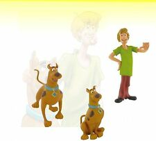 Scooby Doo 3 Mini Figures Cake Toppers /Toy PVC Comansi Official New