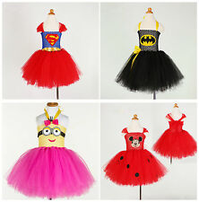 Super Hero Superman Supergirl Batgirl Fancy Dress Costume Party Cosplay Outfit
