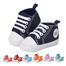 Kids Boys Girls Sports Shoes Sneakers Baby Infant Soft Bottom First Walkers ITBU
