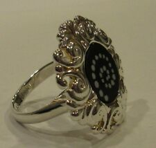 AUTHENTIC KAMELEON SCROLL ROUND RING KR010 KR10 925 STERLING SILVER SIZE 6 OR 8
