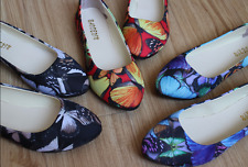 Womens Ballerina Loafers Flat Single Shoes Ballet Slip On Casual Candy Flats