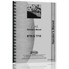 Ford 6510 7710 Tractor Operators Manual (6710 Tractor (Diesel) | 7710 Tractor)