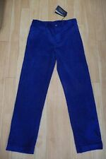 Polo Ralph Lauren Corduroy Trousers, Red, Blue or Green, Age 14 years, BNWT