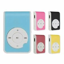 Mini Q Key MP3 Music Player With USB Cable Earphone Back Clip Support 8GB TF Car
