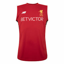 Liverpool FC  LFC Mens Red Training Vest 17/18 Official