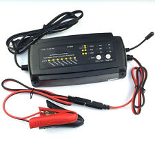 12V 2A/4A/8A Smart Car Moto Battery Charger 7-Stage Maintainer Batteries Charger