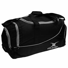 Gilbert Club V2 Holdall Black/White Sports Bag Gymbag Carryall
