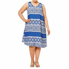 NEW Belle Curve Printed Tunic Dress