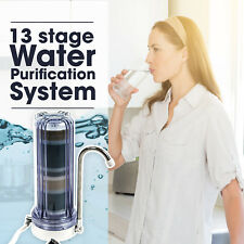 BLUPURE 13 Stage Water Filter- Premium Countertop Water Purification System
