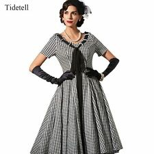 Tidetell Plus Size Cocktail Dresses Striped Pleated Tunic Vestido 2017 Spring
