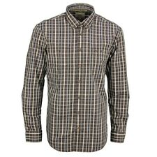 Camel active Men's Casual Shirt Regular Fit blue brown Red-White Check 496190 19