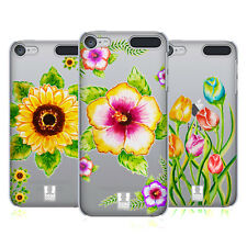 HEAD CASE DESIGNS WATERCOLOURED FLORALS HARD BACK CASE FOR APPLE iPOD TOUCH MP3