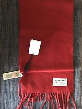 Burberry Scarf Red