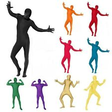 Full Body Lycra Spandex Skin Suit Catsuit Halloween Party Zentai Costumes Unisex