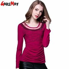 Office Women Blouse New Arrival Long Sleeve Shirts For Women OL Casual Top Plus