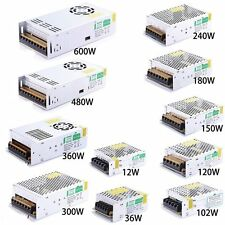 led Driver 1A-60A Switching Switch LED strip Power Supply Adapter AC110V-240V to