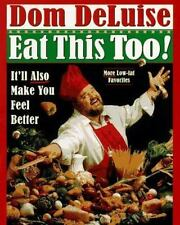 CBHC Dom DeLuise: Eat This Too! (1997 Hardcover)