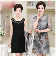 new summer Korean fashion elegant temperament vest two-piece dress
