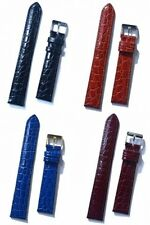 Condor Crocodile Grain Leather Watch Strap With Buckle 612R