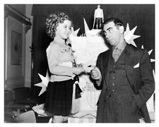 Actress Shirley Temple With Eddie Cantor Publicity Silver Halide Photo