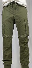 Denim Supply Ralph Lauren Men Military Army USA UK Flag Jogger Cargo Pants Green